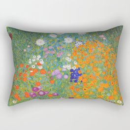 Cottage Garden Rectangular Pillow