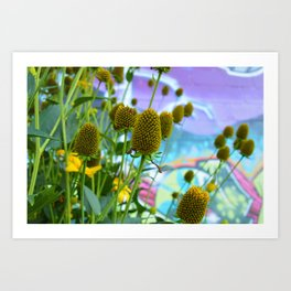 Graphic Weed Art Print