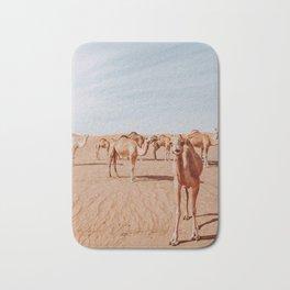Happy Desert Camels Bath Mat