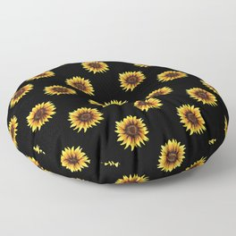Sunflower Floor Pillow