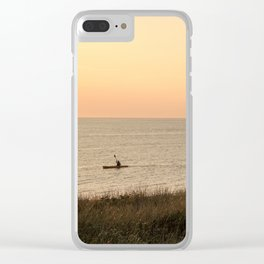 Kayakers Clear iPhone Case