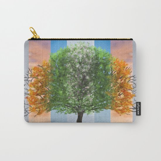 The seasons of the year in a tree Carry-All Pouch