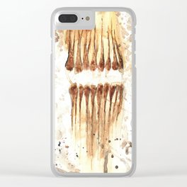 Idle Chatter Clear iPhone Case