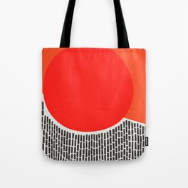 Sunshine And Rain Abstract Tote Bag
