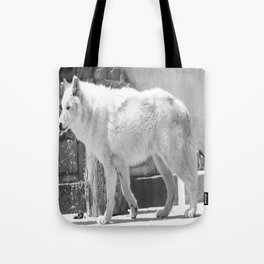 Gray Wolf 1 Tote Bag