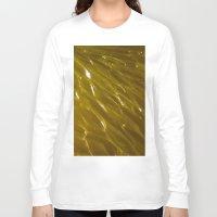 orange pattern Long Sleeve T-shirts featuring Orange pattern by Svetlana Korneliuk