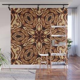Fractal Filament Blast Pattern Wall Mural