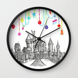 Party at Hogwarts Castle! Wall Clock