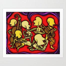 Ancient Melody Art Print