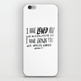 Everlasting Love iPhone Skin