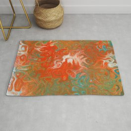 As Luck Would Have It, Abstract Art Rug