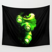 hulk Wall Tapestries featuring Hulk by Juliana Rojas | Puchu