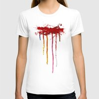 reservoir dogs T-shirts featuring Reservoir Dogs Blood Drip by Van Hog Trio