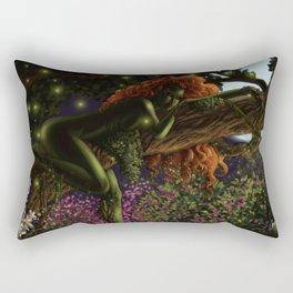 Poison Ivy Rectangular Pillow