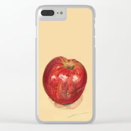 crispy apples Clear iPhone Case