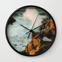 waves come crashing Wall Clock