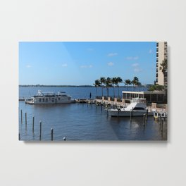 Under the Florida Sun Metal Print