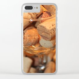 Glass Half Full Clear iPhone Case