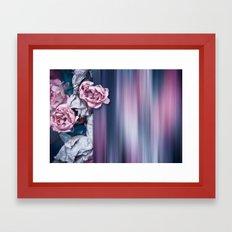 ROSES ABSTRACT Framed Art Print