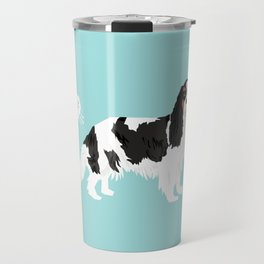 Cavalier King Charles Spaniel tricolored funny farting dog breed gifts Travel Mug