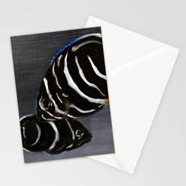 Juvenile Emperor Angel Fish Stationery Cards