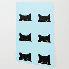 Black cat I Wallpaper