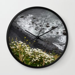 Newport Rock Beach Wall Clock