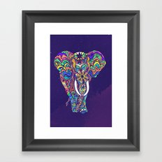 Not a circus elephant Framed Art Print