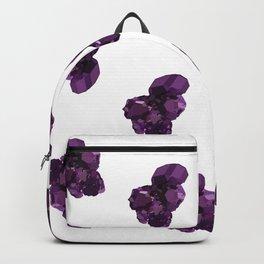 Amethyst Crystal Stone Backpack