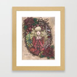 Candy Christmas Framed Art Print