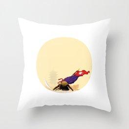 Eternal Samurai Throw Pillow