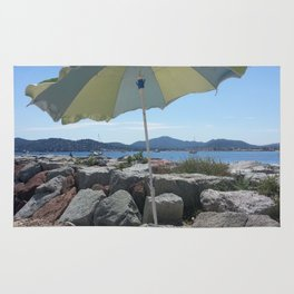 At the Bay of St. Tropez, France Rug
