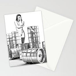 Lager and Lead Stationery Cards
