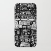 cabin iPhone & iPod Cases featuring Lost cabin 666 by Marcelo Romero
