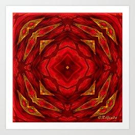 Red involvements Art Print