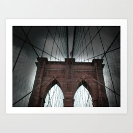 Brooklyn Bridge (NY) Art Print