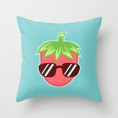 Strawberry Fresh Throw Pillow