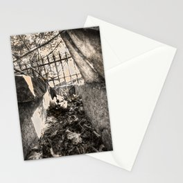 A look inside the Stone Coffin Stationery Cards