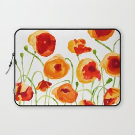 Poppy Sunrise Laptop Sleeve