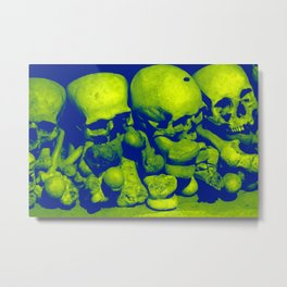Skulls III Metal Print