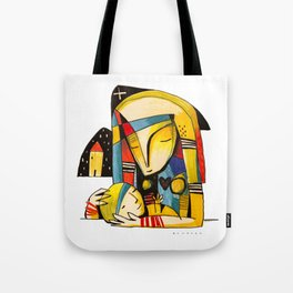 Mother and Child - Home Tote Bag