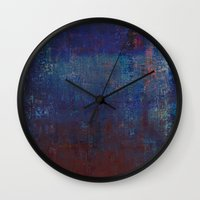 calendars Wall Clocks featuring Isaz - Runes Series by Fernando Vieira