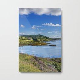 Dunvegan Castle Isle of Skye Metal Print