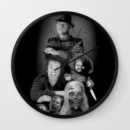 We are a happy family Wall Clock