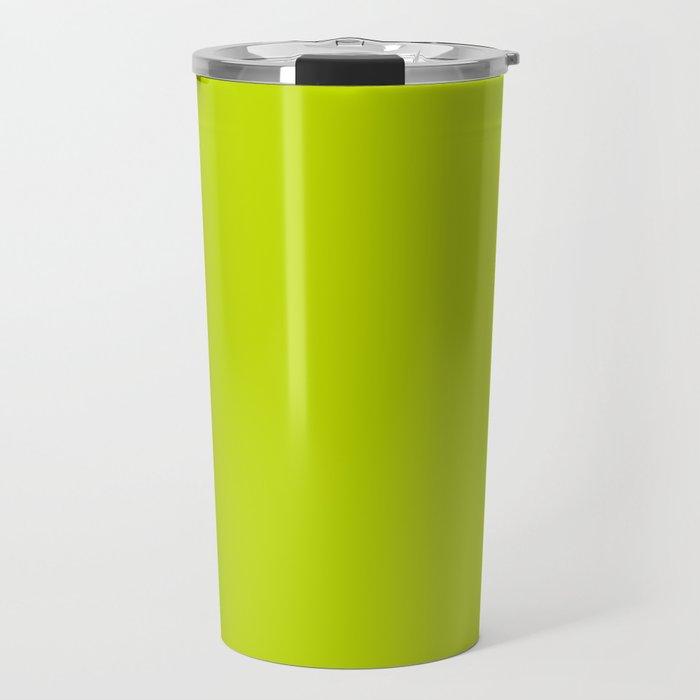 Simply Lime Punch pantone Travel Mug