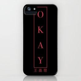 OKAY - Vertical ver. 1 iPhone Case
