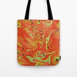 Papaya Juice Tote Bag