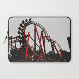 Roller Yellow Coaster Red Laptop Sleeve