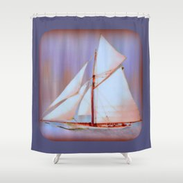 Ghost Sails Shower Curtain