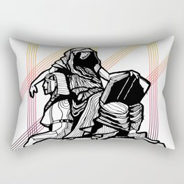 Cleo-Muse of History 2 Rectangular Pillow